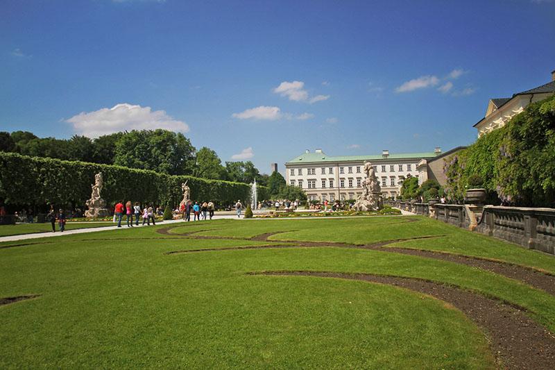 Salzburg Revisited: Mirabell Gardens