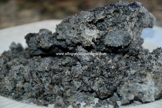 Carbón dulce casero
