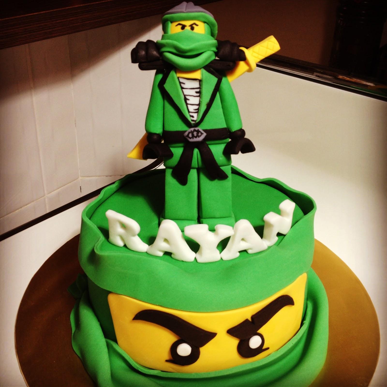 Comelicious Lego Ninjago Lloyd Zx Cake