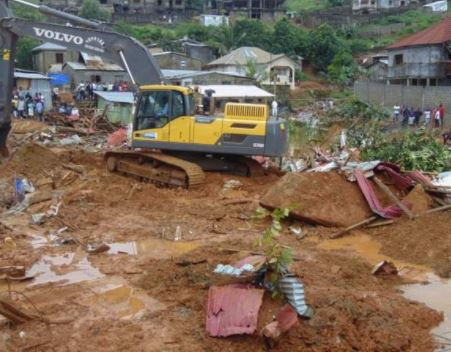 Morgues in Sierra Leone are 'overcrowded with corpses' following mudslides that's killed over 300 people