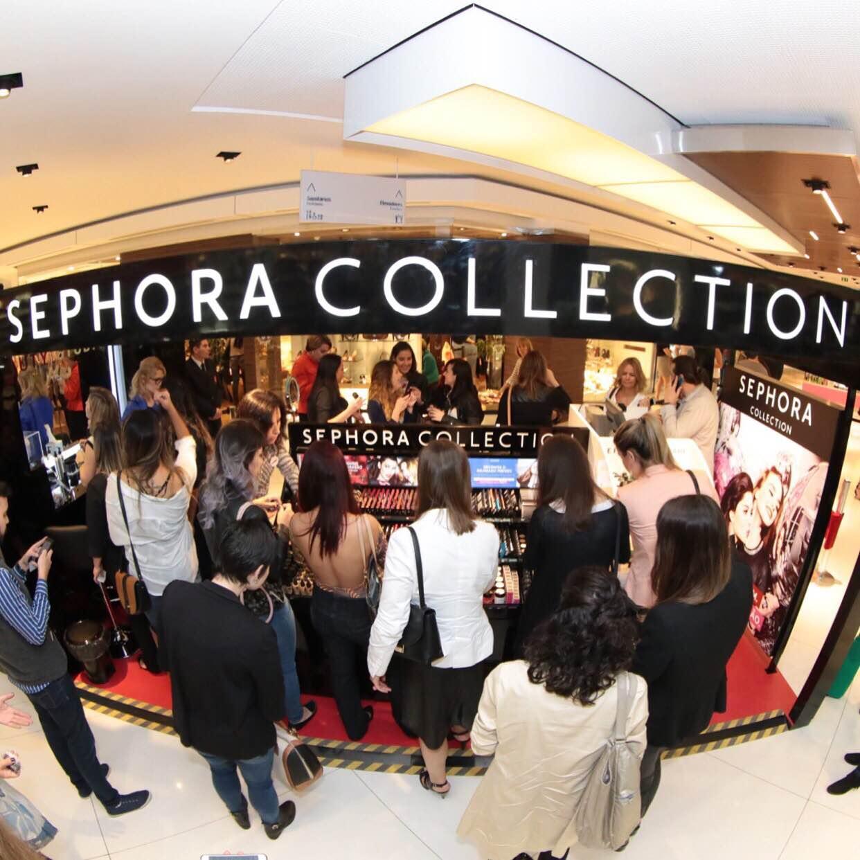 1f833d77952 Sephora inaugura sua pop up store em Curitiba