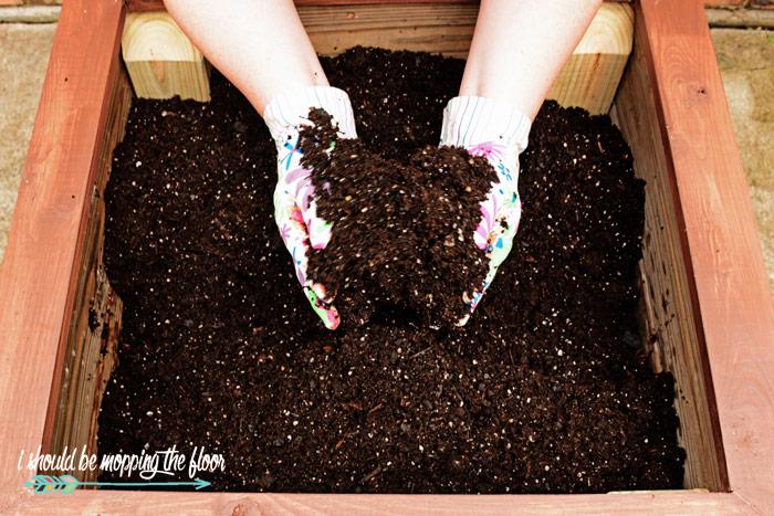 Homemade Planter Box