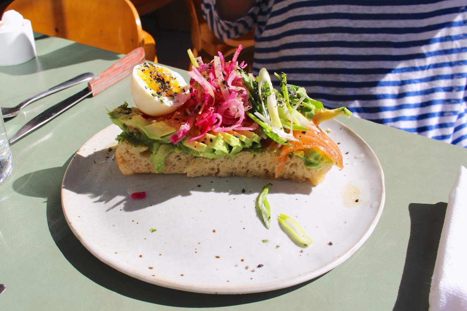 De Maria NYC Avocado toast | New York Kenmare St