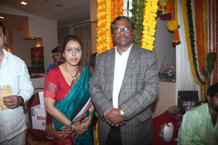 """""""Creative Connection Charitable Trust"""" Presents """"Saraswati Puja"""" attended by Health Minister Faggan Singh Kulaste"""