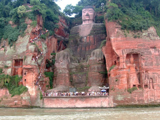 Giant Buddha Statue of Leshan, Sichuan, China. Ariel Steiner/wikipedia, CC BY-SA