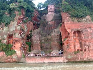 Giant Buddha Statue of Leshan, Sichuan, China. Ariel Steiner/wikipedia, CC BY-SA