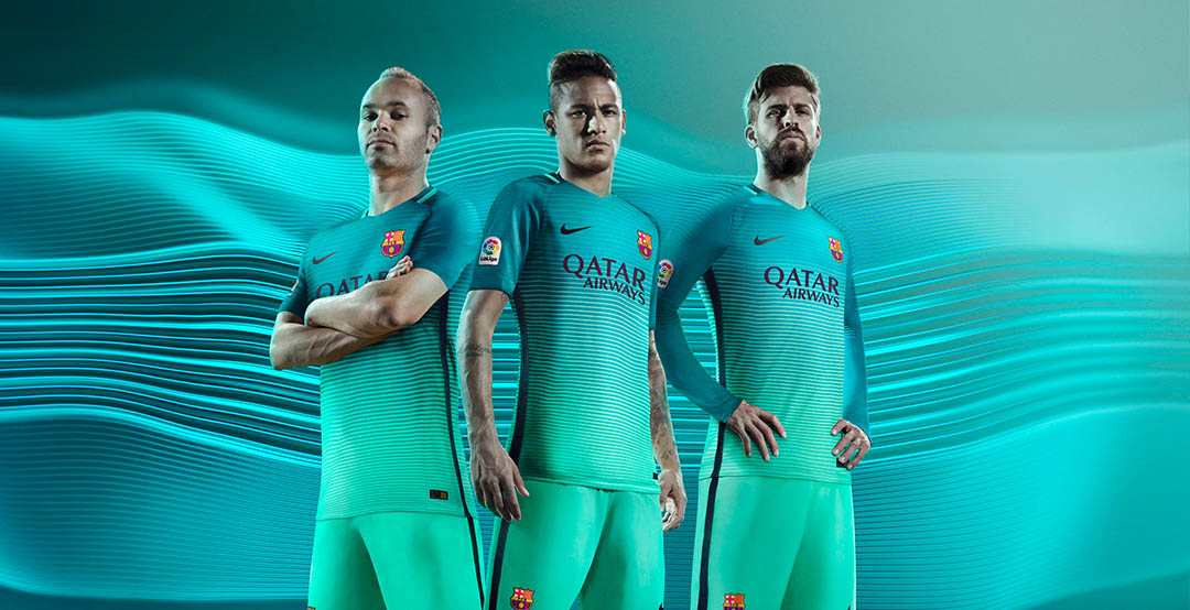 03b1d22994aa Barcelona 16-17 Third Kit Released - Footy Headlines