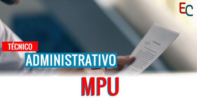 apostila mpu tecnico administrativo pdf 2018