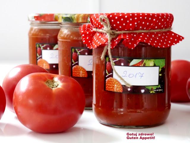 Koncentrat (sos) pomidorowy na zimę - Czytaj więcej »