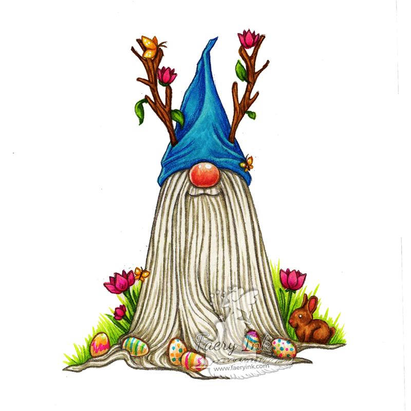 Tutorial Tuesday - Tomte Gnome Easter Tetrad Color Scheme