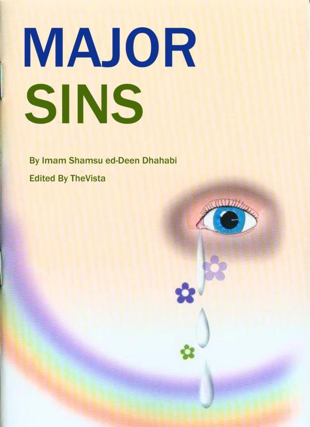 The Majors Sins English Islamic Book