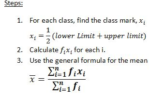 Notes of Ch 14 Statistics| Class 10th Math - Study Rankers