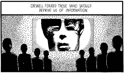 Essay topics for 1984 by george orwell