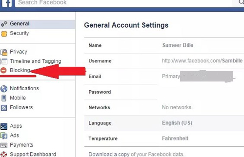 how to block friends on facebook