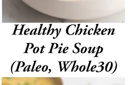 Instant Pot Healthy Chicken Pot Pie Soup