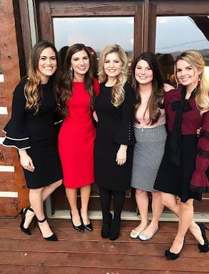 Whitney Bates, Carlin Bates, Erin Paine,  Tori Smith, Alyssa Webster