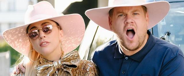 Lady Gaga participará en el Carpool Karaoke con James Corden