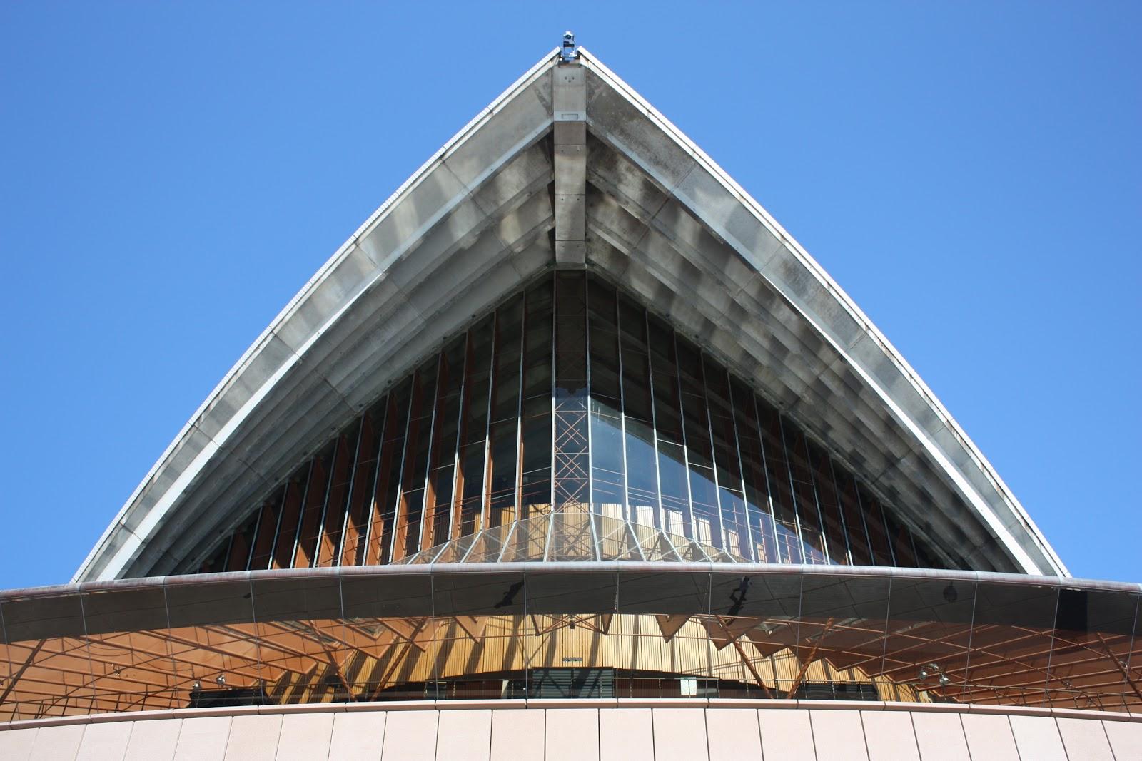 Sydney City And Suburbs Sydney Opera House Facade
