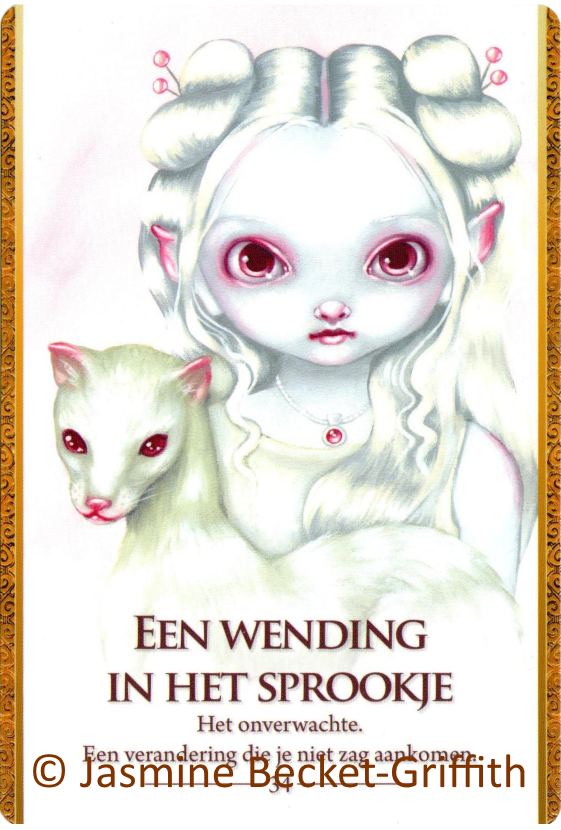 Oracle of the Shapeshifters A twist in a tale Jasmine Becket Griffith
