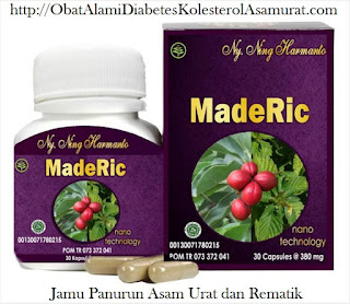 Jual  khasiat OBAT herbal MadeRic asli  mengatasi asam urat- reumatik