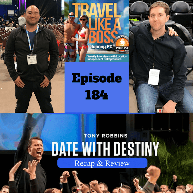 Listen to Ep 184 of the Travel LIke a Boss Podcast