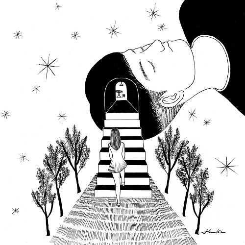 """Into your dream"" by Henn Kim 