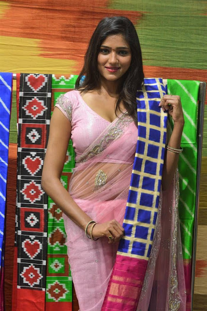 Shalu Chourasiya Stills At Pochampally IKAT Art Mela Launch