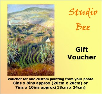 gift certificate, custom painting, landscape painting, portrait painting,