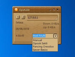 Share Inject Indosat Aputube Work 9, 10, 11, 12 Agustus 2016 untuk im3 Ooredoo