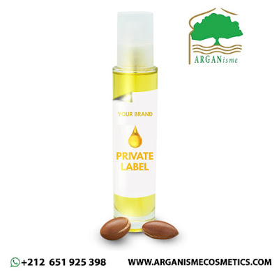 Argan oil with Private label