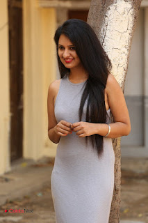Actress Nikita Bisht Latest Picture Gallery in Long Dress  0050.JPG