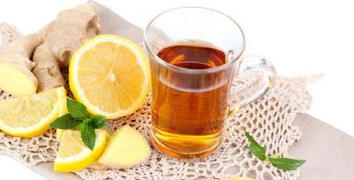 Dapatkan Perut Rata dengan Ramuan Lemon dan Jahe