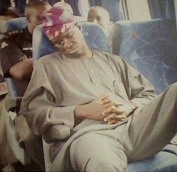 fashola sleeping