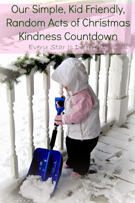 Budget Friendly Random Acts of Christmas Kindness Countdown for Families