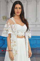 Telugu Actress Amyra Dastur Stills in White Skirt and Blouse at Anandi Indira Production LLP Production no 1 Opening  0107.JPG