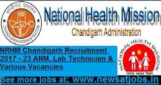 nrhm-chandigarh-23-post-Recruitment-2017
