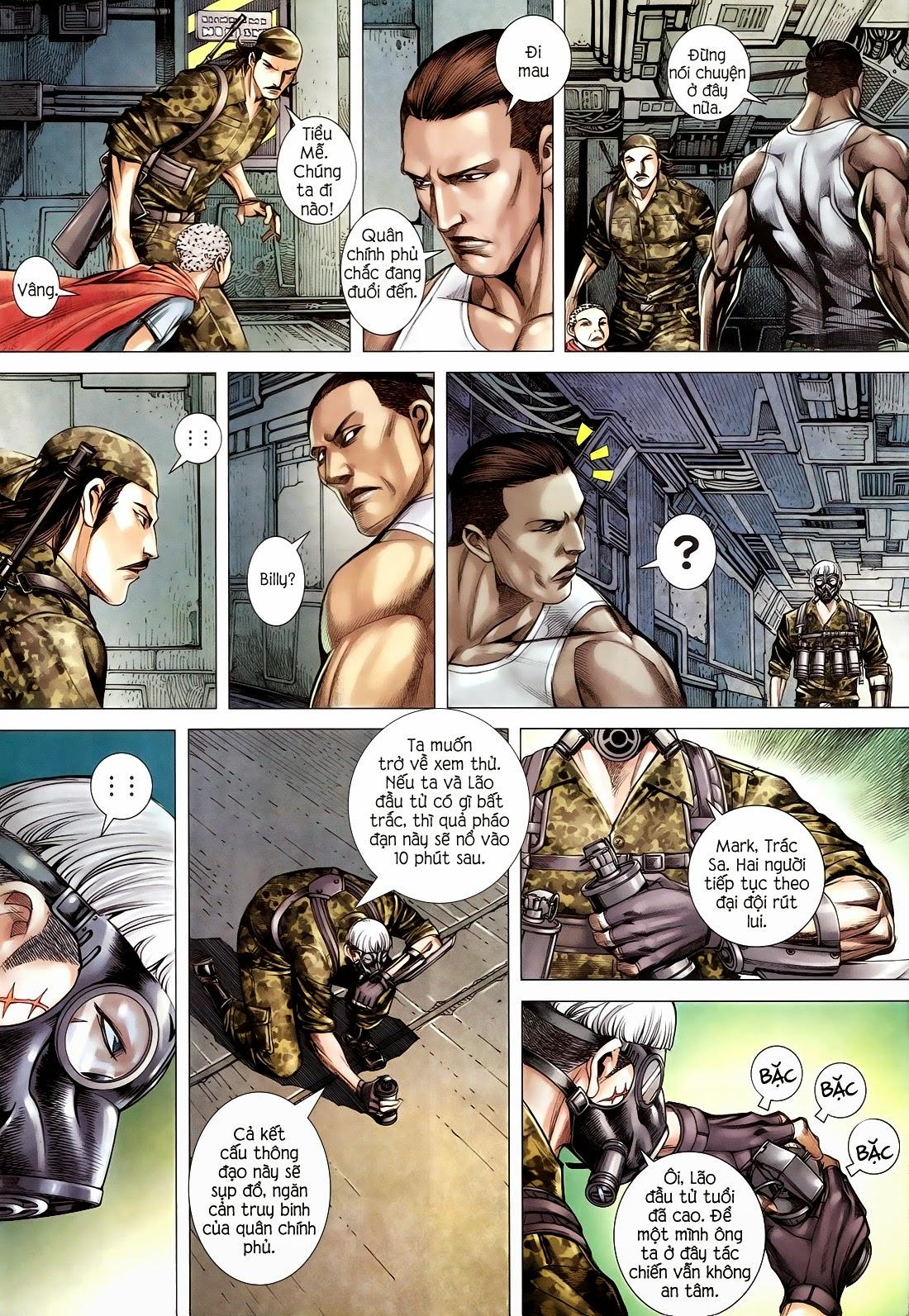 Đại Quân Phiệt chap 14 trang 28