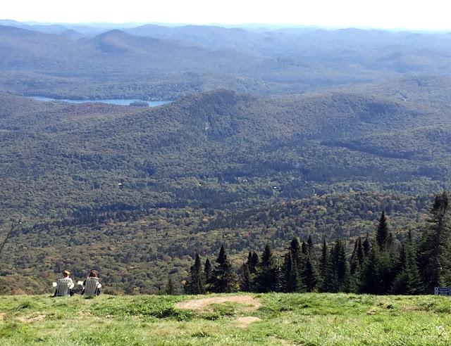 Mont Tremblant mountain top