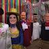 Bonecos gigantes do Carnaval de Puluca são apresentados ao Brasil e ao mundo no programa da Rede Globo