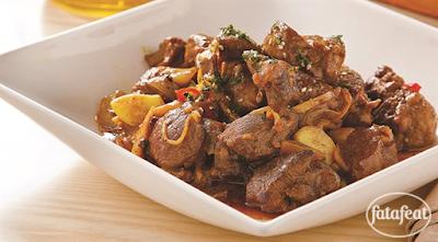 لحم الضأن بجوز الهند والكاري