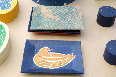 松本クラフトフェア2017 紙の箱工房AkaneBonBon 鳥