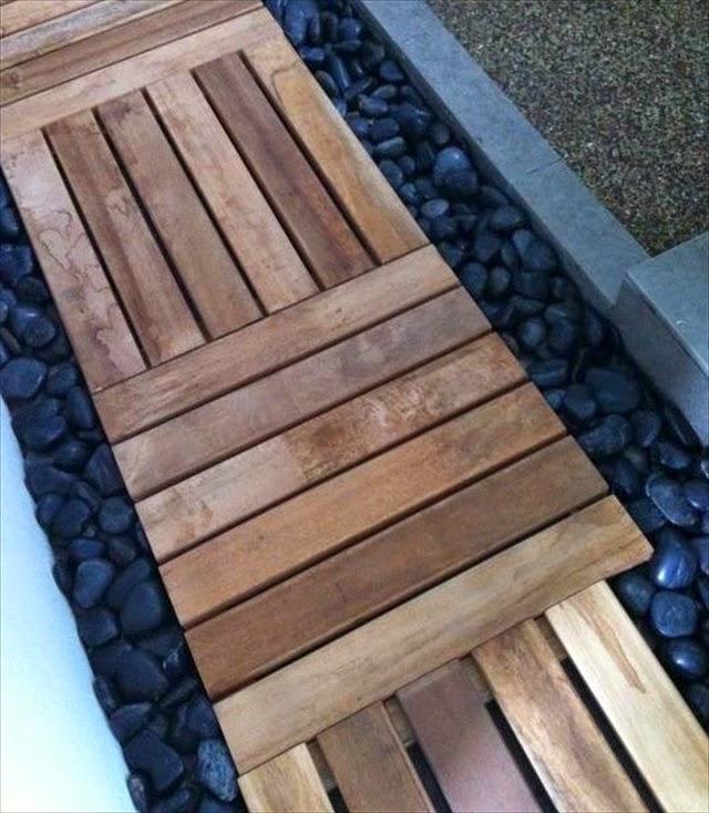 Wood Walkways: Home And Garden : Wooden Walkways For Gardens