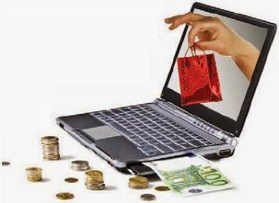 الشراء عن طريق الانترنت
