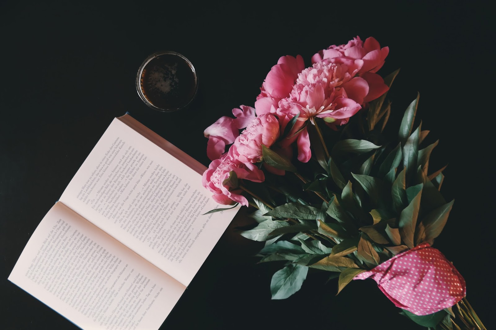 first love, love, flowers, book, drink