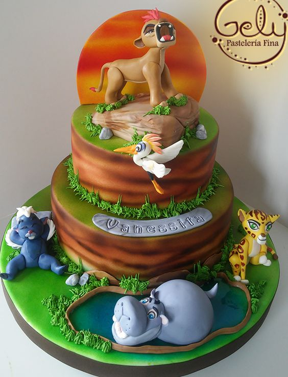 cake the lion guard