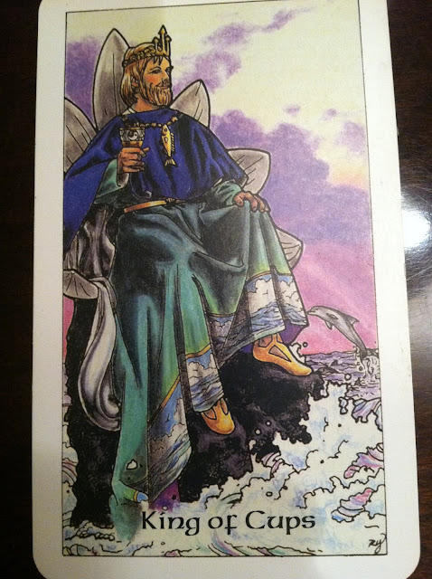 Cupid tarot card