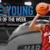 Trae Young of Oklahoma University making his mark towards the NBA 2018 Draft