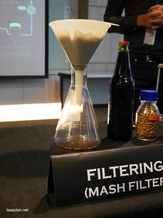 Filtering (Mash Filter)