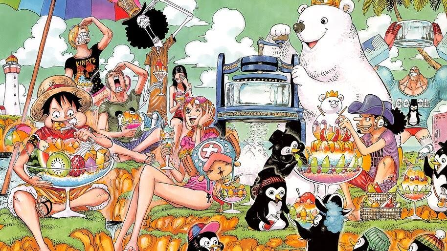 One Piece, Straw Hat Pirates, 4K, #6.145