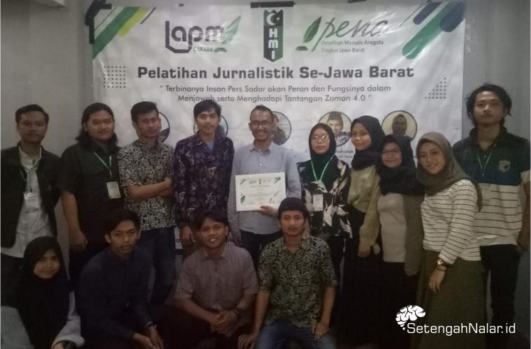 Tingkatkan Kualitas Kader HMI, LAPMI CAKABA Gelar Pelatihan Jurnalistik